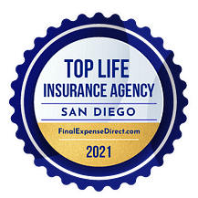 Top Life Insurance Agency Badge by Final Expense Direct