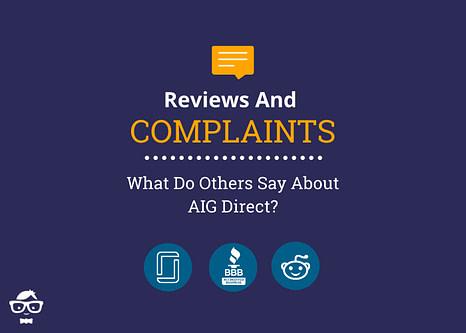 Reviews and Complaints about AIG Direct