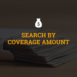 Search Life Insurance Coverage Amounts